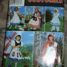 Simplicity Costume Sewing Pattern 0618 Alice In Wonderland, Little Bo-Peep, Red Riding Hood
