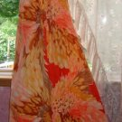 Nani of Hawaii Hawaiian Dress! Long/Soft Polyester, Vibrant! Sz. 16/L/XL