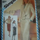Simplicity MARY McFADDEN Sewing Pattern #6039, Skirt & Jacket, Sz. 12