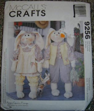 McCall's Crafts Easter Bunny Rabbit Patterns 9256 Among Country Friends Sherlock