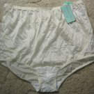 Vanity Fair Candleglow SILKY SOFT Panties w/Lace (Full Brief Style), Sz 8; NWT!
