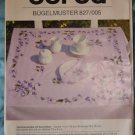 Vintage Burda Bugelmuster VIOLETS Embroidery Transfer Pattern 827/005