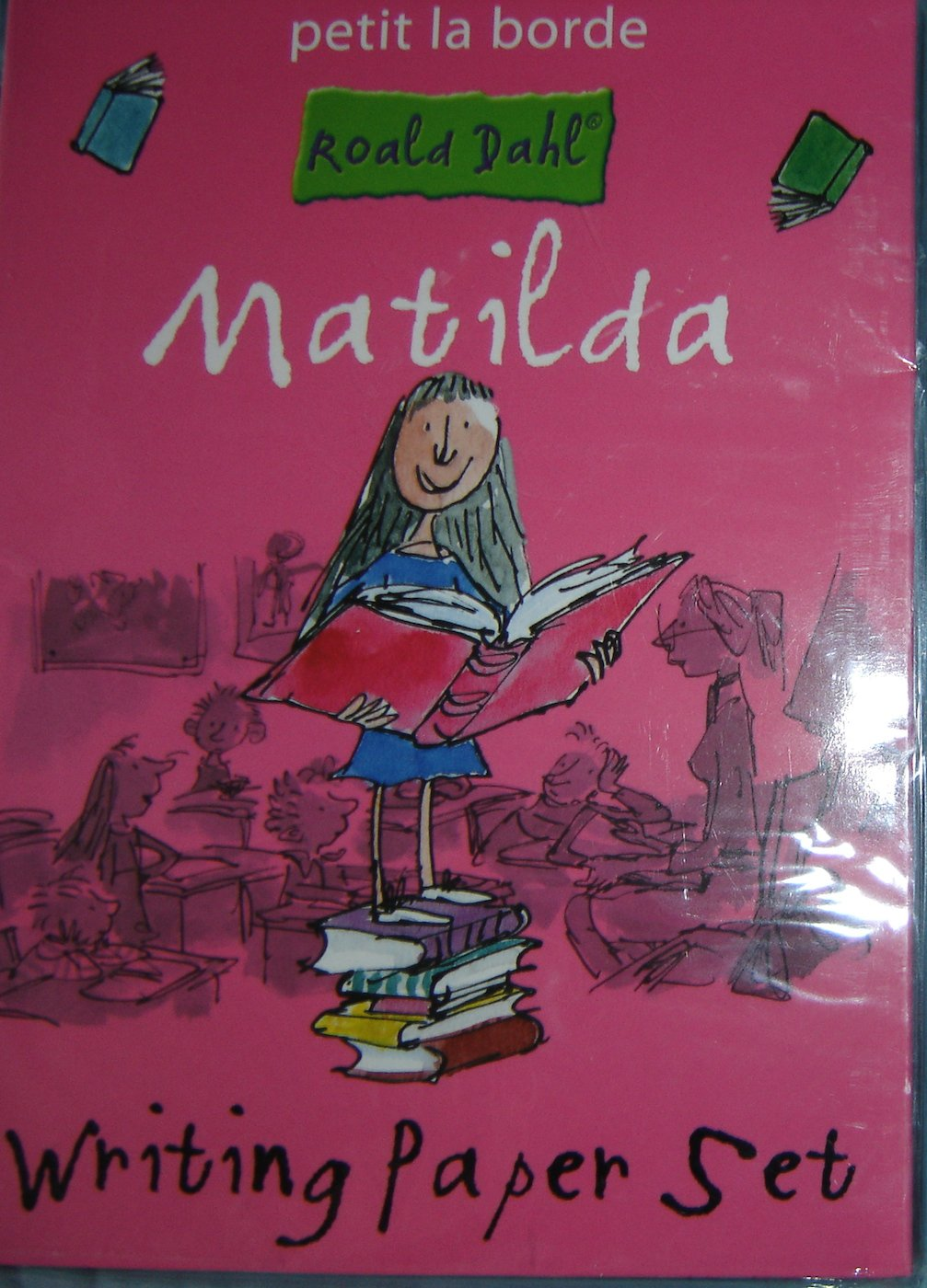 "Roald Dahl ""Matilda"" Writing Paper Set (24 Sheets/12 Envelopes, Sticker Sheet) Rare!"