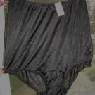 Vintage Vanity Fair ALL NYLON Full Brief Black Panties Made in USA, NWT! Sz. 8