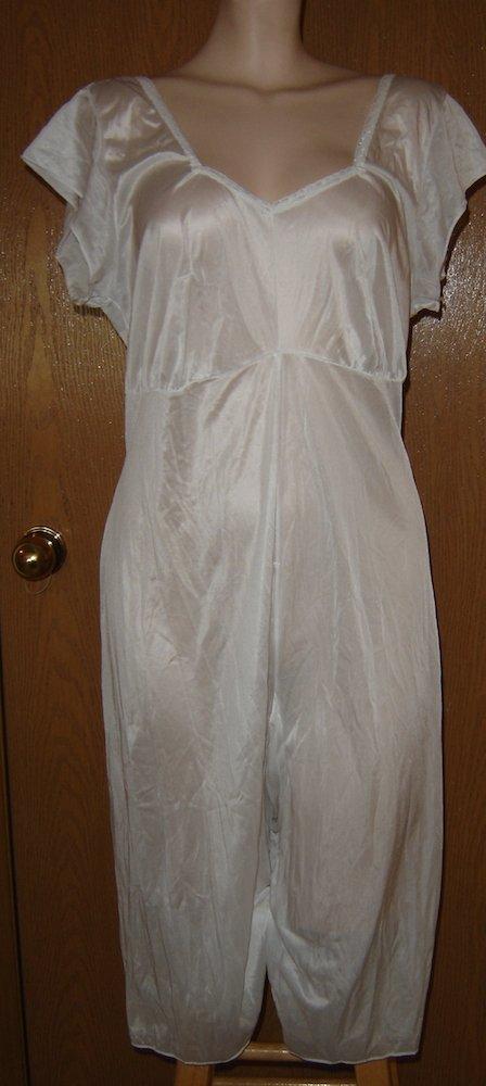 Sold Ladies Silky Soft Mormon Lds Onesie All In One Slip