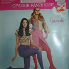 Vintage JC Penney Gaymode Opaque Pantyhose, Sexy Models; Frosty Pink/Average