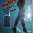 Vintage Tights for Exercise, Dance, Casual Wear; Brown, Sz. Tall