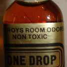 Vintage Bottle of 'One Drop'; Destroys Room Odor (Non Toxic), 1/2 Oz.