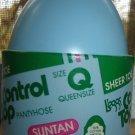 Vintage L'eggs (in Blue Plastic Egg!) Control Top Pantyhose, Suntan, Size Q (Queen)