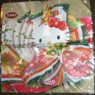 Sanrio Hello Kitty in Kimono Japan Only Scarf or Handkerchief; HTF/Rare!
