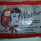 Vintage Durlyne Windchaser Blue Tulle Nylon Hair Net Scarf;  NIP!