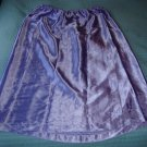 SILKY SATIN Long Purple Half Slip!  Plus Size/Cross-Dresser? XL-XXL, Etc.