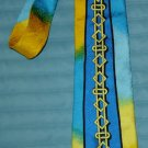 Rush Limbaugh No Boundaries Collection Silk Tie; Colorful!
