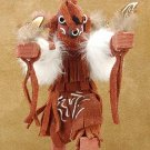 Mudhead Kachina Doll Navajo Made Artist Signed.