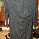 !00% silk black dress by Argenti