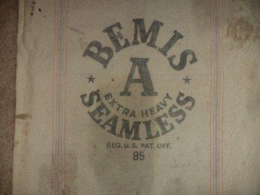 Bemis A Extra Heavy Seamless Feed Sack