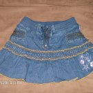 EVERGIRL DENIM SKORT SIZE 8