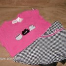 GIRL CONNECTION 2-PIECE GIRL'S SKORT SET SIZE 7