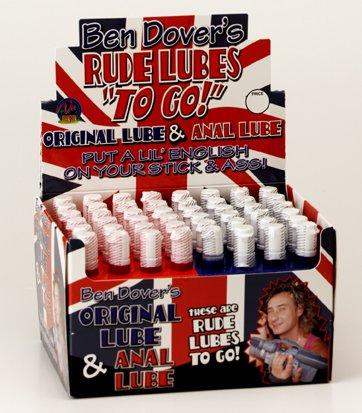Bendover Lube Case 48 Bottles