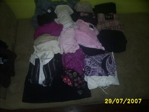 Womens Clothes Skirts Pants Tops Sweater Mixed lot used