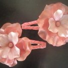 Angela's Accessories Pastel Pink Clips