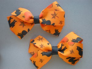 Angela's Accessories Traditional Halloween Bows:15% off!!