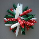 Angela's Accessories Christmas Big Korker Bow