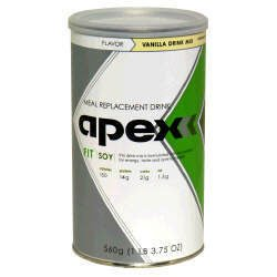 Apex FIT Soy Meal Replacement Drink - Vanilla
