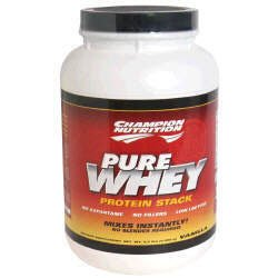 Champion Nutrition Pure Whey Protein Stack - Vanilla - 2.2lbs.