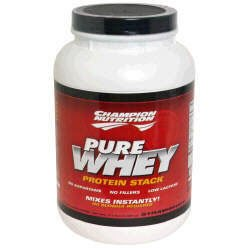 Champion Nutrition Pure Whey Protein Stack - Strawberry - 2.2lbs.