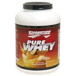 Champion Nutrition Pure Whey Protein Stack - Banana Scream - 5lbs.