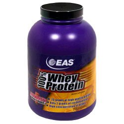 EAS 100% Whey Protein - Strawberry - 5lbs.