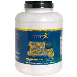 HDT 5 Plus 1 Whey Protein - Banana Cream Pie - 6lbs.