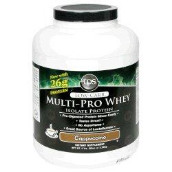 IDS Multi-Pro Whey Isolate Protein - Cappuccino - 5lbs.