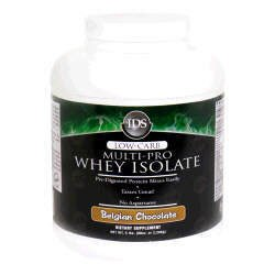 IDS Low-Carb Multi-Pro Whey Isolate - Belgian Chocolate - 5lbs.