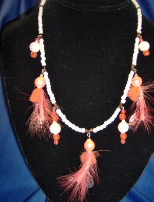 Luminous Copper Allure Necklace
