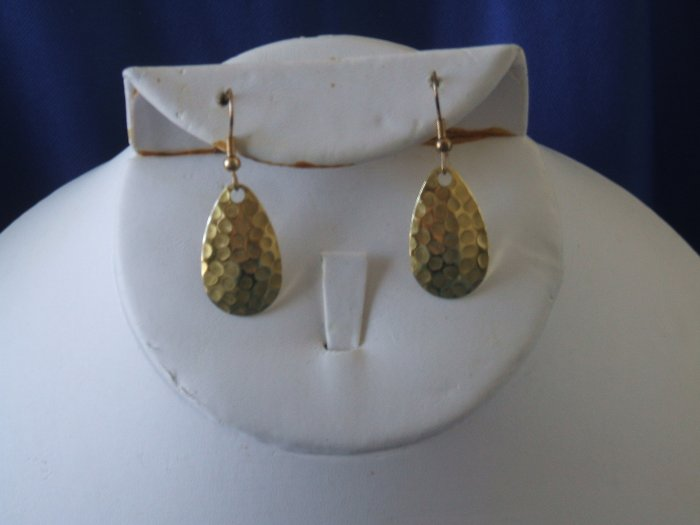 Gold Spoon Allure Earrings
