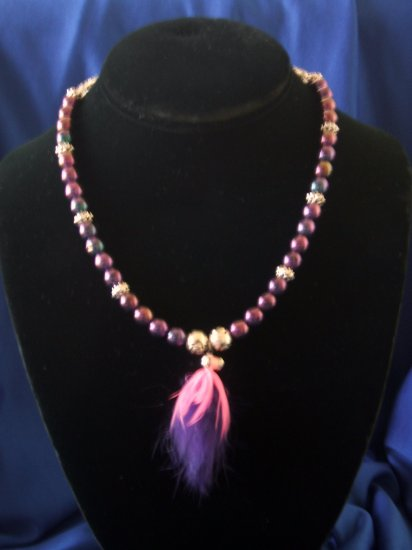 Purple Passion Allure Necklace