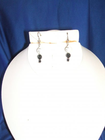 White Bobber Allure Earrings
