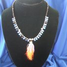 Reversible Marabou Allure Necklace