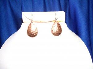 Copper Spoon Earrings