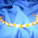 Amber Crystal Bracelet
