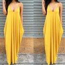 Women Summer Boho Long Maxi Evening Party Dress Beach Dresses Chiffon Dresses