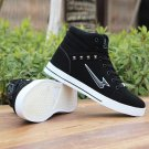 NEW 2016 Men's Shoes Fashion Leather Shoe Casual High Top Sneakers Shoes Best US
