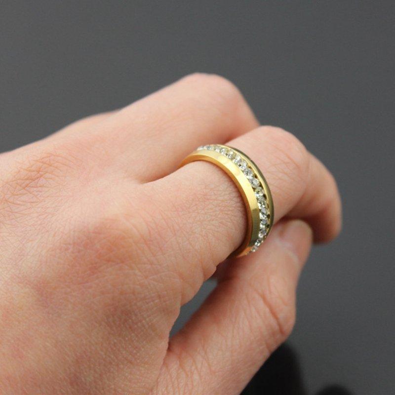 2016 NEW Couple Stainless Steel Wedding Ring Men/Women Titanium Engagement Band