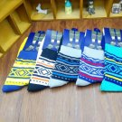 5 Pairs Lot Mens Designer Fashion Dress Socks New Stripe Argyle Colors Bright
