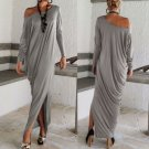 Women's Casual Summer Long Sleeve Evening Party Cocktail Maxi Long Dress Pretty