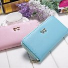 Fashion Lady Women Long Card Holder Case Leather Clutch Wallet Purse Handbag