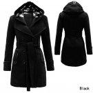 2015 Fashion Womens Warm Winter Hooded Long Section Jacket Outwear Coat NEW