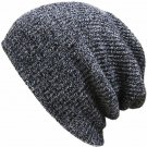 Unisex Winter Oversized Knit Ski Crochet Slouch Hats Baggy Beanie Hip-Hop Caps